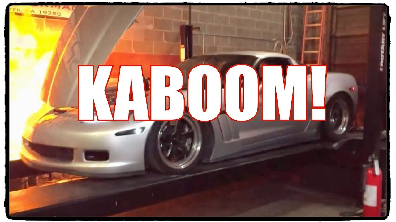 What Could Go Wrong? 1,300 HP Corvette With Stock Intake