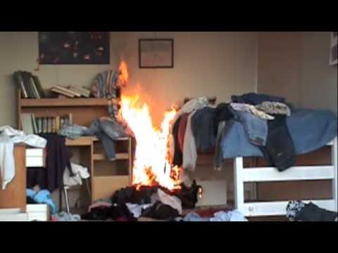 SFA Campus Safety Department - Mock Dorm Burn - YouTube