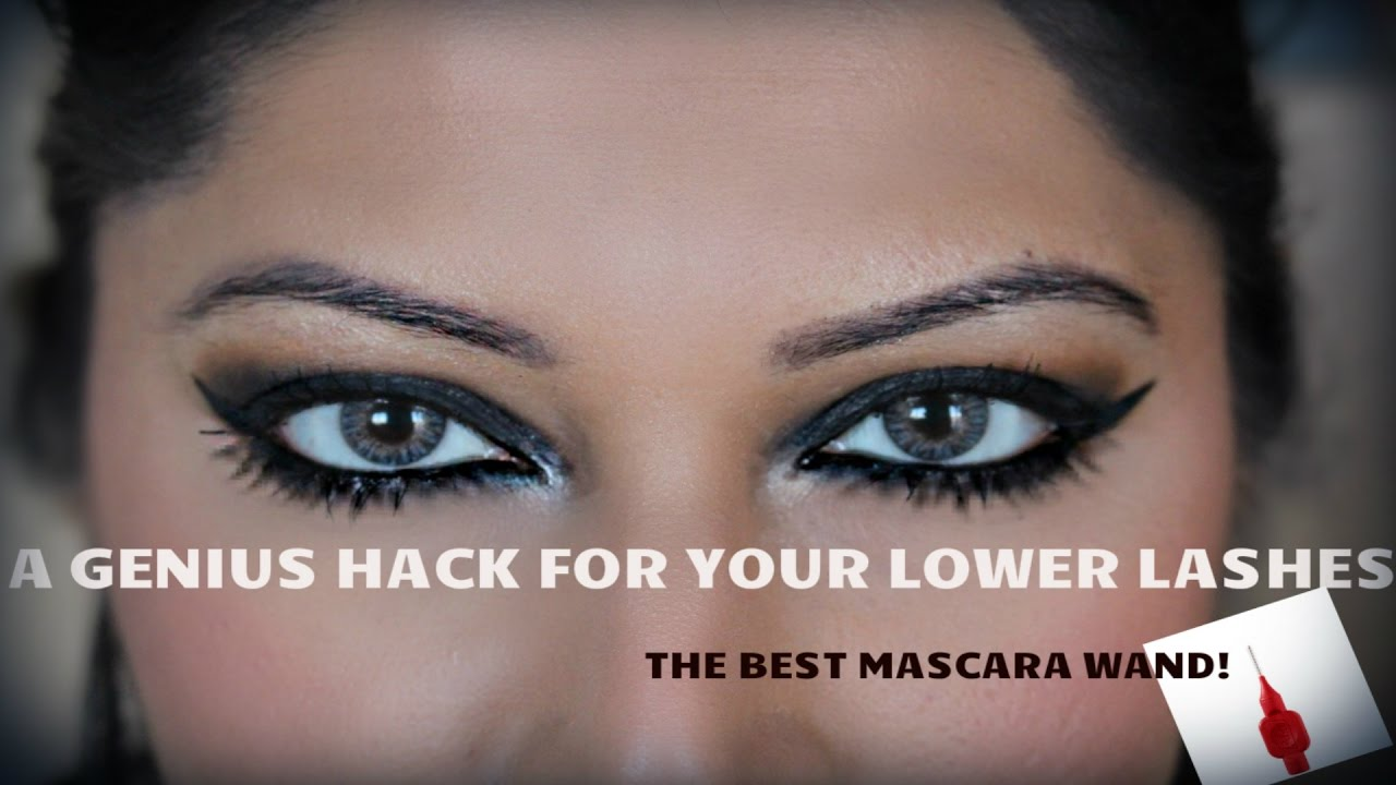 How To Apply Mascara On Your Lower Lashes With An Interdental Brush