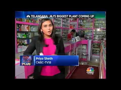 Telangana: J&J'S Biggest Plant Coming Up