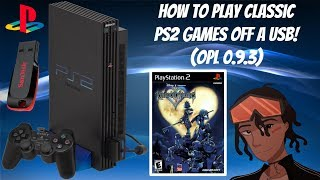 How To Play Classic PS2 Games Off A USB! (OPL 0.9.3) + With CoverArt #PS2 #Softmod #OPL #FreeMcBoot