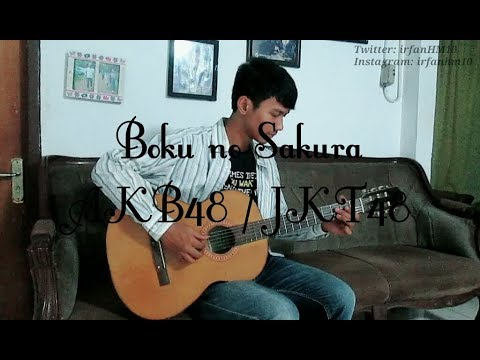 (AKB48/JKT48) Boku no Sakura - Irfan Hadi Maulana