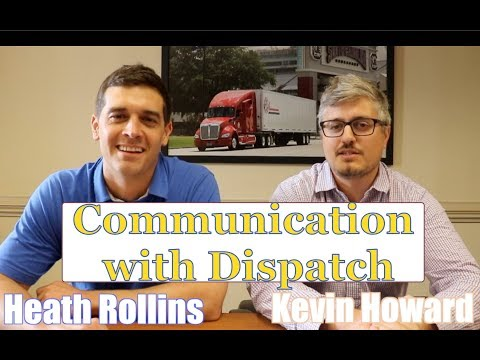 Communication With Dispatch