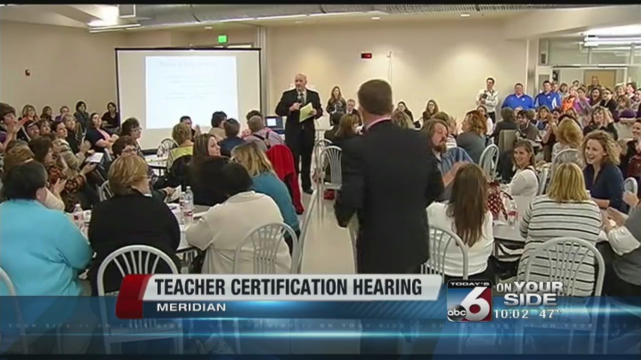 Teachers ask Idaho Board to reconsider tiered-certification plan ...
