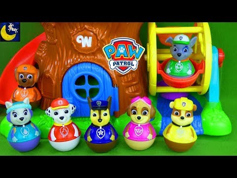 Paw Patrol Weebles Toys Funny Stories for Kids Hide and Seek Lost Animals