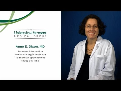 Anne Dixon, MD, Medical Director & Pulmonary And Critical Care Physician - The UVM Medical Center