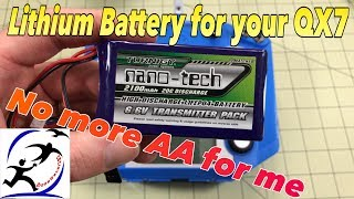 Battery options for the FrSky Taranis Q X7 | Does your Taranis need a battery upgrade?