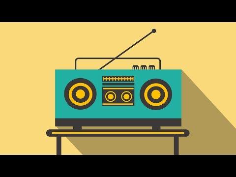 PowerPoint Tutorial - Flat Graphic Design (Radio)