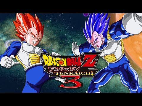 DBZBT3: SSJG Vegeta (Red) VS SSJG Vegeta (Blue) (Duels)