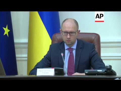 Ukraine PM on investigation into the Malaysian plane crash; Deputy PM in Kharkiv