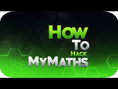 How To Hack MyMaths (update In Desc)