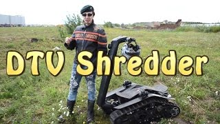 [#Докатились!] Тест драйв DTV Shredder. Гусеничный Сигвей(А купить эту веселую машинку вы можете у наших друзей Из