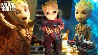 Guardians of The Galaxy Vol.2 | Baby Groot - He's Just too Cute