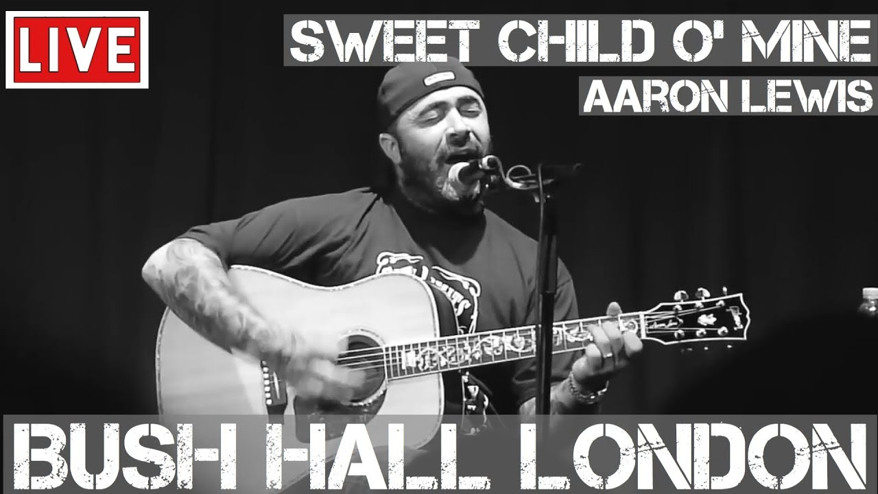 aaron lewis sings sweet child o 39 mine by guns n 39 roses live and acoustic in hd youtube. Black Bedroom Furniture Sets. Home Design Ideas