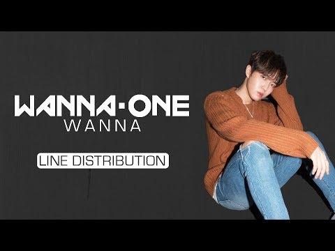 Wanna One (워너원) - I Wanna Have/Wanna (갖고 싶어) [Line Distribution]