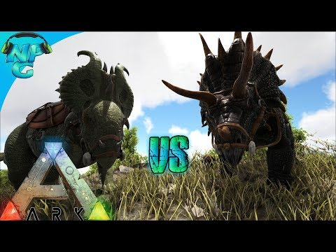 The Great Meta Debate - Trike VS Pachyrhino for Turrets and Raiding! ARK Science Evolved