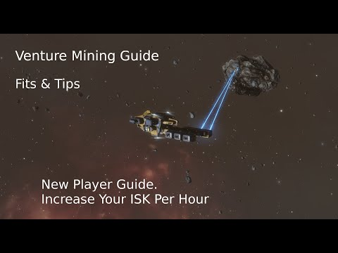 Venture Mining Ship Tips & Fit Guide 2019 - Eve Online New Player & Alpha Guide