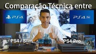 PS4 PRO - COMPARATIVO TÉCNICO COM O PS4 NORMAL QUAL A MAIOR DIFERENÇA ENTRE ELES?