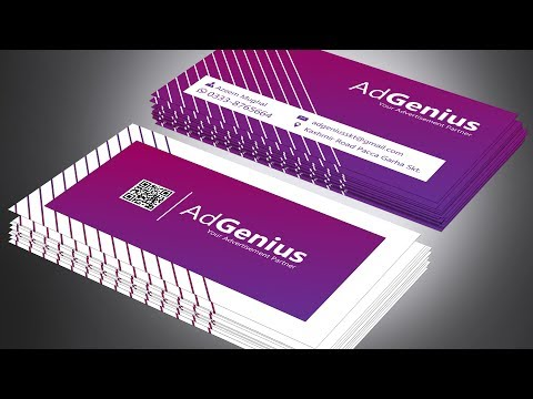 business card design   visiting card   new innovation   illustrator tutorial by see this creation thumbnail