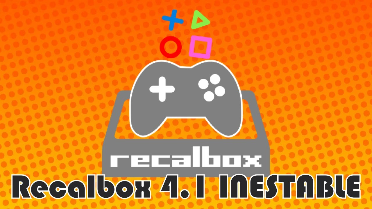 RECALBOX 4.1.0 TÉLÉCHARGER