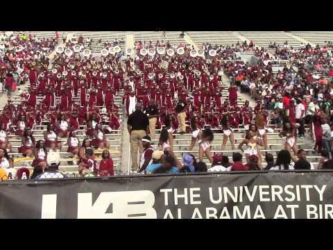 2014 Alabama A&M University Band @ UAB - Cold Blood
