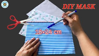 New Pattern 3D Face Mask Sewing Tutorial DIY Breathable Face Mask Sewing Tutorial Máscara 3D