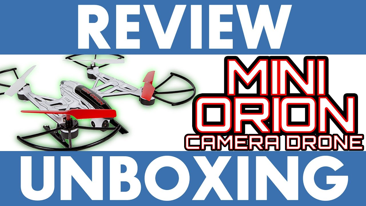Mini Orion Hd Camera Drone Review Amp Unboxing Youtube