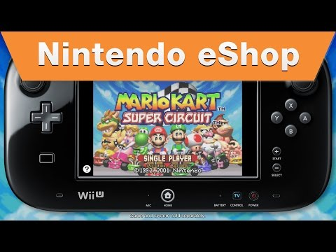 Nintendo eShop - Mario Kart Super Circuit: on the Wii U Virtual Console