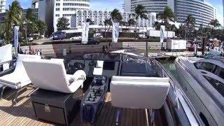 Yachts Miami Beach 2016, Exotic Car Spotting: Ferrari 488GTB, Camo Huracan and more in 1080p