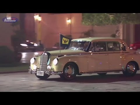 1952 Mercedes-Benz 300 Crown prince Maha Vajiralongkorn ธงชัยเฉลิมพล 2558