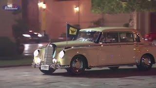 Repeat youtube video 1952 Mercedes-Benz 300 Crown prince Maha Vajiralongkorn ธงชัยเฉลิมพล 2558
