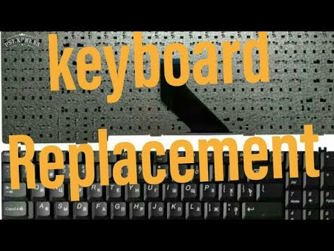 Keyboard Replacement Of Any Laptop || How To Replace Laptop Keyboard