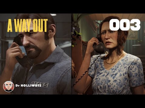 A Way Out #003 - Der Ausbruch [XBOX] | Let's play A Way Out