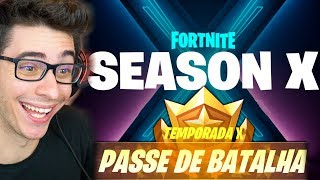 I'VE ALREADY WON THE NEW BATTLE PASS OF THE FORTNITE SEASON 10!