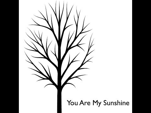 You Are My Sunshine Acoustic Lullaby and Newborn Visual Stimulation
