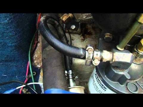 Inboard Fuel Pump Fix YouTube