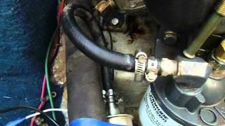 inboard fuel pump fix