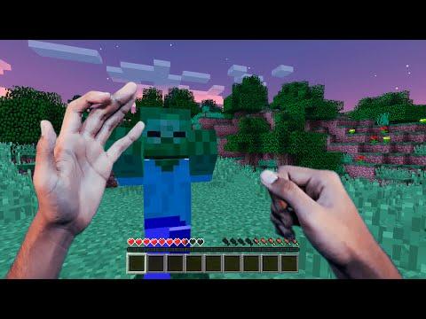 Minecraft Realista #01 - DENTRO DO MINECRAFT !! (REALISTIC MINECRAFT)