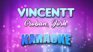 Groban, Josh - Vincent (Starry Starry Night) (Karaoke & Lyrics)