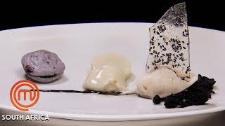 Licorice & Litchi Dessert Replication Challenge   MasterChef South Africa   MasterChef World