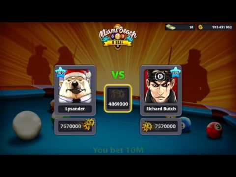 Alone Country Hacker In BERLIN 50 Million   8 Ball Pool