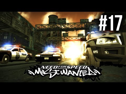 Need for Speed Most Wanted 2005 Gameplay Walkthrough Part 17 - MASSIVE POLICE CHASE