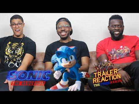 Sonic the Hedgehog Trailer #2 Reaction