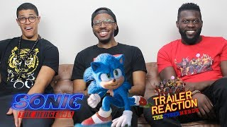 Sonic the Hedgehog Trailer #2 Reaction