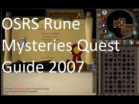 The Ultimate Quest Guide for New Players : 2007scape