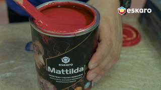 Как покрасить комнату в яркий цвет(Моющаяся абсолютно матовая краска для интерьеров Eskaro Mattilda., 2017-02-02T13:12:08.000Z)