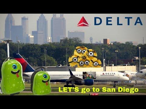 Delta Flight: Atlanta to San Diego traveling with a Kid