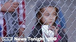 The Migrants Trapped Below An Overpass In El Paso (HBO)