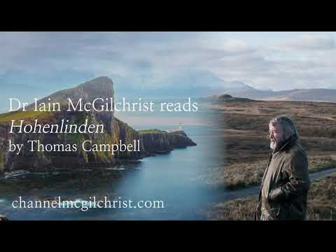 Daily Poetry Readings #226: Hohenlinden by Thomas Campbell read by Dr Iain McGilchrist