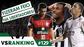 OS 10 MAIORES VEXAMES DE BRASILEIROS NA LIBERTADORES - VSRANKING #129